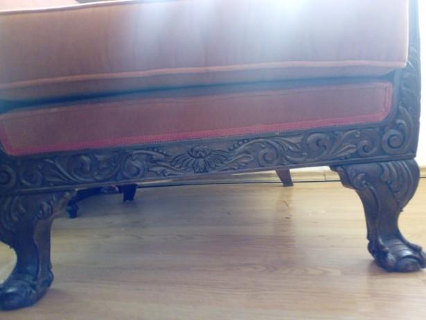 Set canapea si fotolii Chippendalle peste 100 ani.