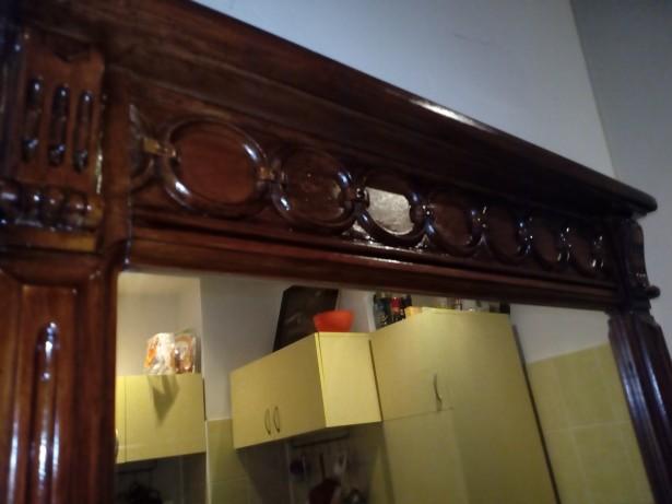 Oglinda lemn masiv sec XX 120x80cm
