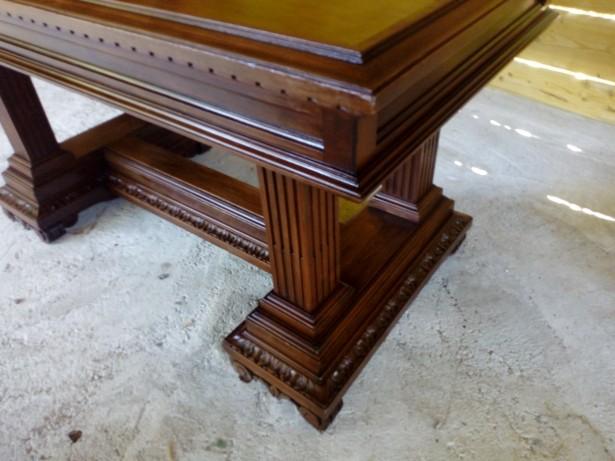 Masa salon antica Florentina lemn masiv+4 scaune cadou
