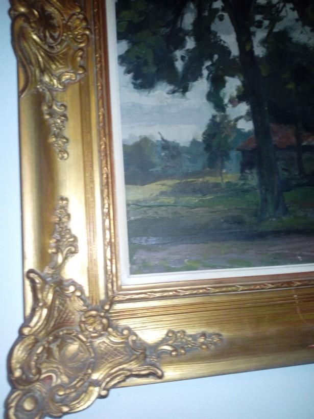 Rama veche stil Rococo 120x80