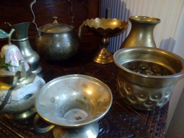 Carafe căni ceainice obiecte bronz