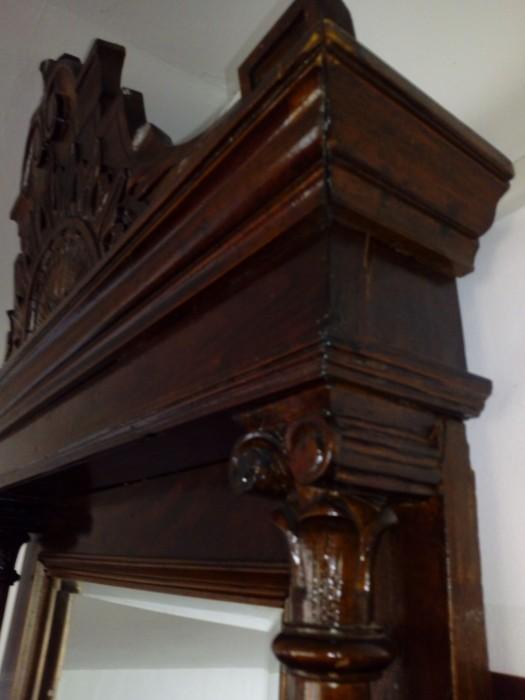 Consola cu oglinda antica AltDeutsch Imperiul Habsburgic