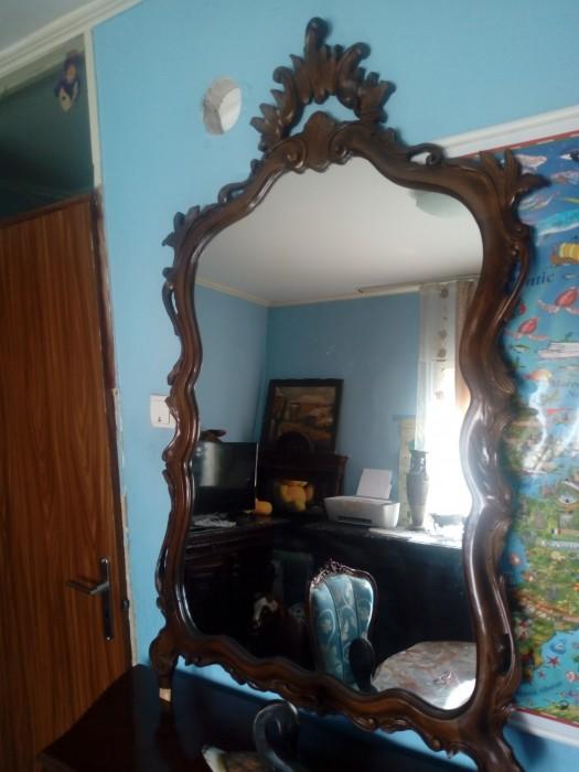 Comoda cu oglinda baroc antica vintage
