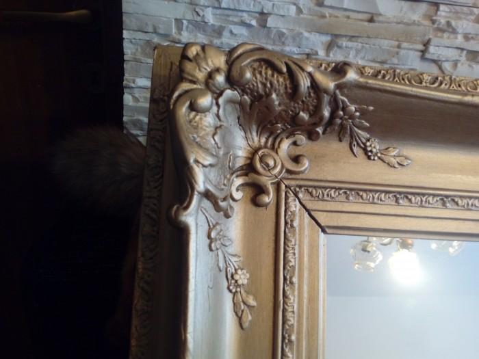 Oglinda lemn Rococo interbelica