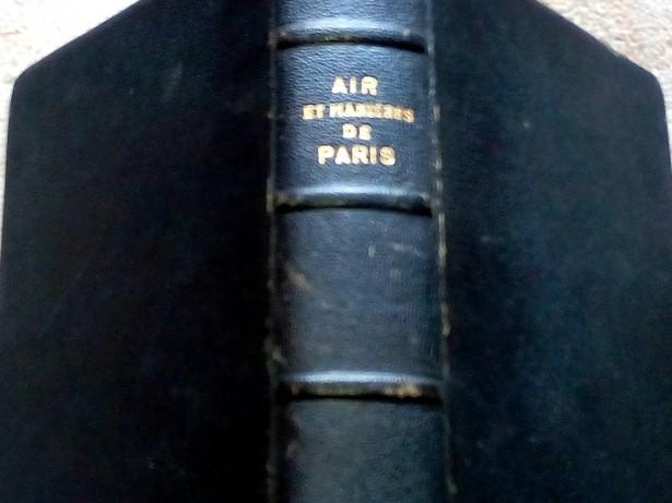 Air et manieres de Paris, P. Bessand Massenet, 1937
