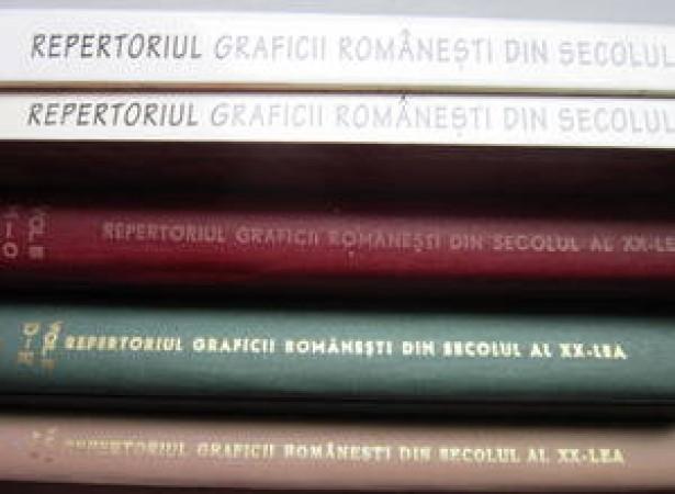 Repertoriul Graficii Romanesti din sec XX