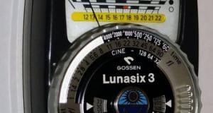 Exponometru Gossen Lunasix 3. Made in Germany.