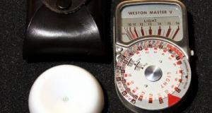 Exponometru Weston Master V cu invercon. Made in England.