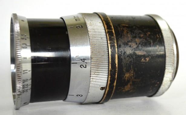 SCHNEIDER-KREUZNACH TELE-XENAR 5,5 180 - 5,5 F= 18cm  REFLEX-KORELLE