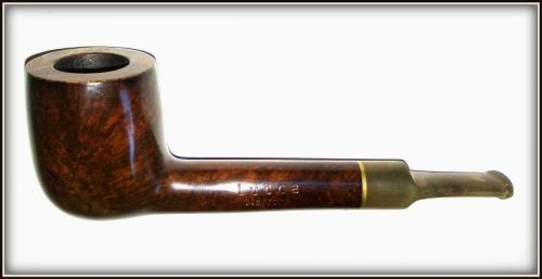 Pipa Lucca Marrone, filtru de 9 mm