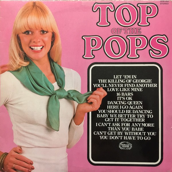 The Top Of The Poppers ‎– Top Of The Pops Volume 54