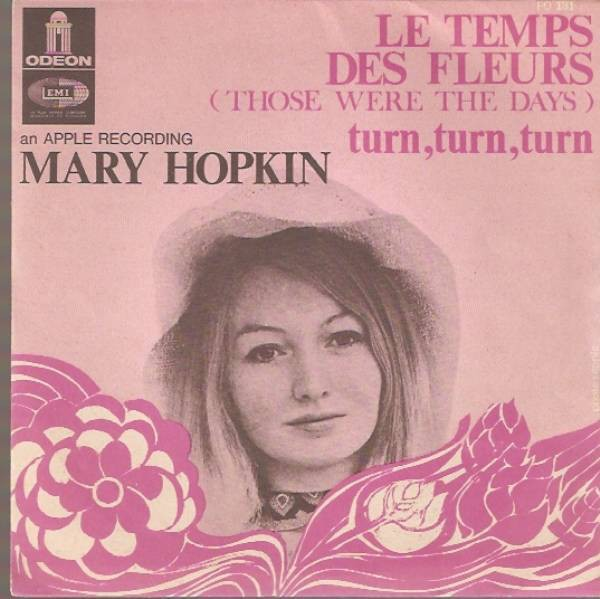 Mary Hopkin ‎– Le Temps Des Fleurs (Those Were The Days)