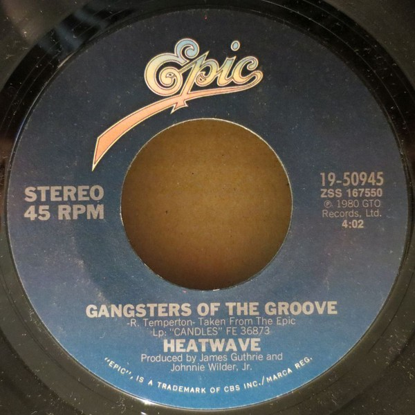Heatwave ‎– Gangsters Of The Groove