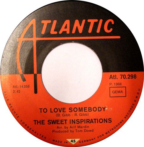 The Sweet Inspirations – To Love Somebody
