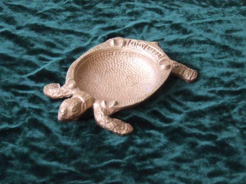 Scrumiera din bronz in forma de broasca testoasa