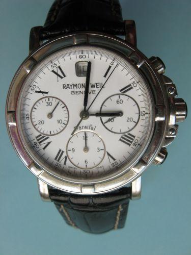 Ceas de mana, original, marca Raymond Weil Geneve, automatic. Ceasul are geamul din safir si cureaua