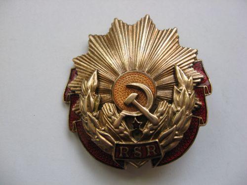 Distinctie veche romaneasca, Ordinul Muncii clasa a- III-a RSR