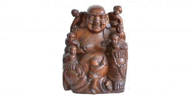 Statueta Hotei protectorul copiilor 018082