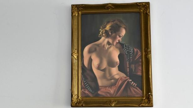 Tablou `Nud` Ioan Statescu (1892-1968) 018296