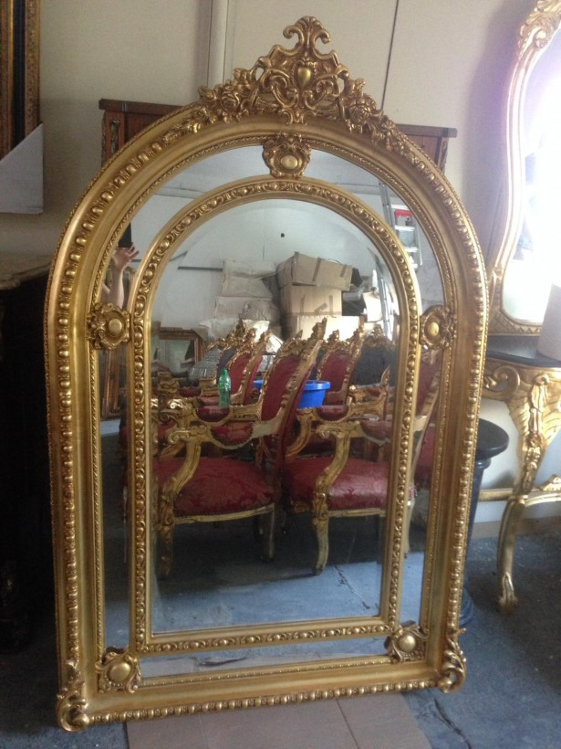 Oglinda superbă de dimensiuni impresionante in stil francez