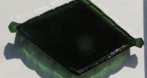 Tava sticla verde