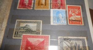 Clasor colectie timbre 47