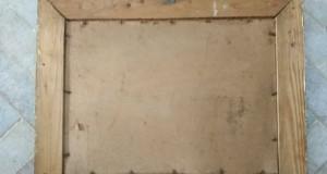 Tablou cu rama din lemn