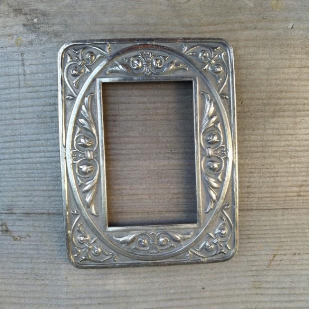 rama veche argintata
