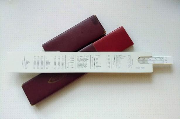 rigla de calcul graphoplex nr.620 System Rietz