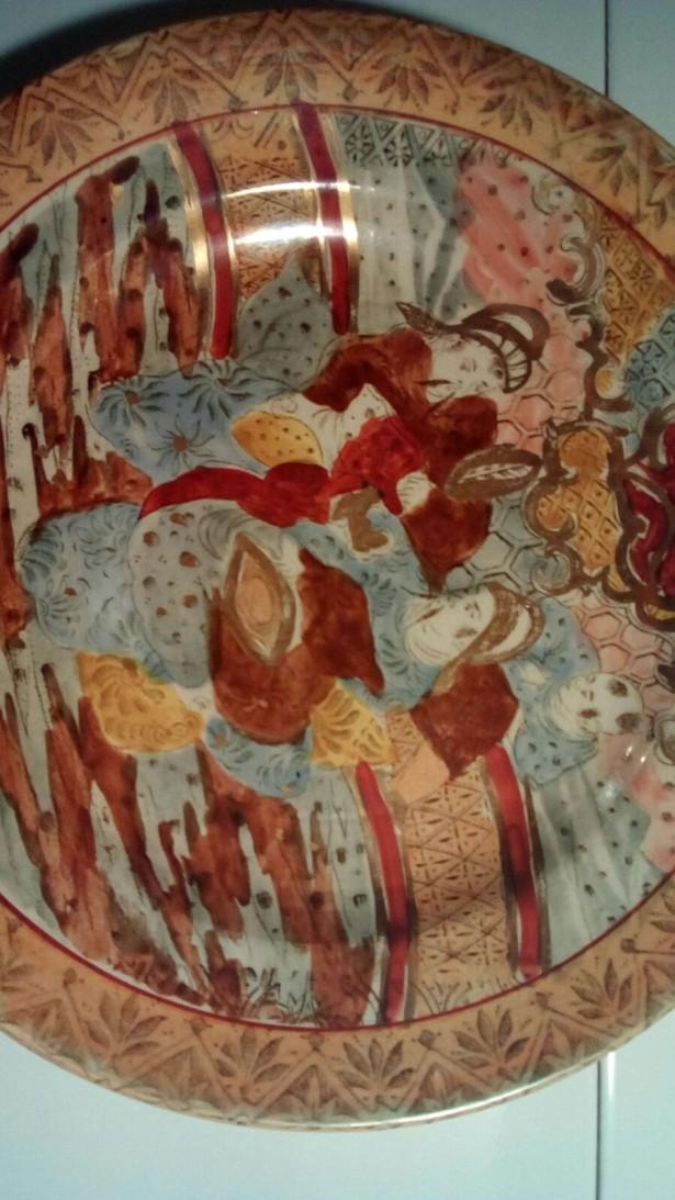 Farfurie majolica - Satsuma