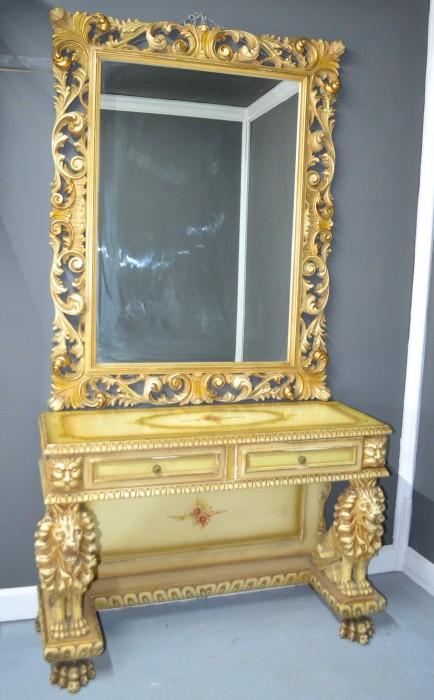 Consola cu oglinda 210350