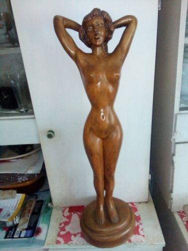 Statueta nud vintage