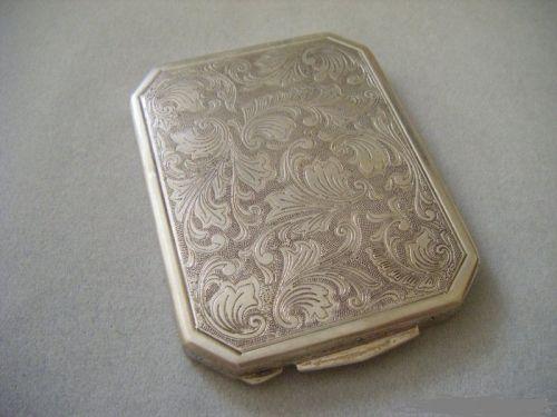 Pudriera argint 800 anul 1930 superba