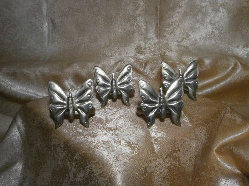 Set 4 inele servetele masa, bronz masiv, Baroc Victorian, sec 19