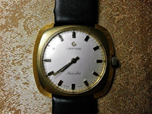 Ceas mecanic de mana Cortina New Art, Swiss made, colectie, cadou