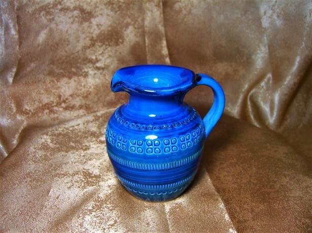 Art Deco Mid Century Rimini Blue by Bitossi, colectie, cadou, vintage