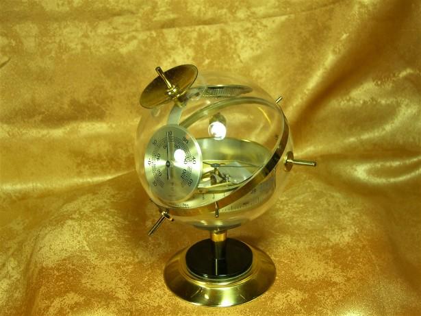 Space age Mid Century Sputnik statie meteo de camera colectie vintage