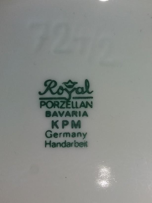 Vaza Bavaria regală Porzellan KPM `Pop-Art`