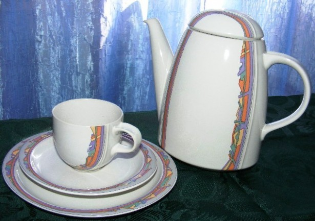 Set mic dejun+ceainic+letiera Thomas Rosenthal