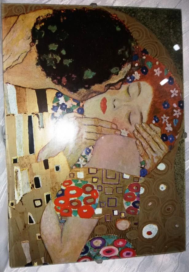 Doua tablouri de  Gustav Klimt