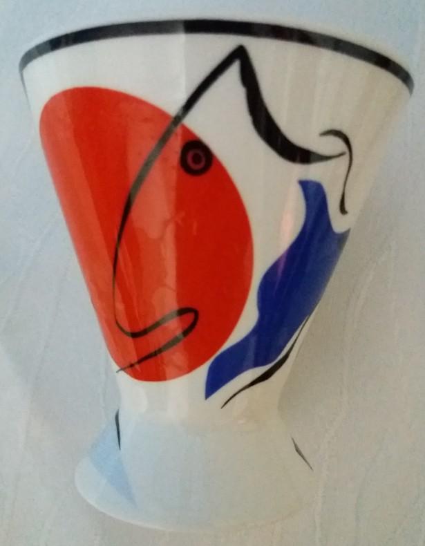 Cupa rara model futurist Villeroy & Boch, Made in France