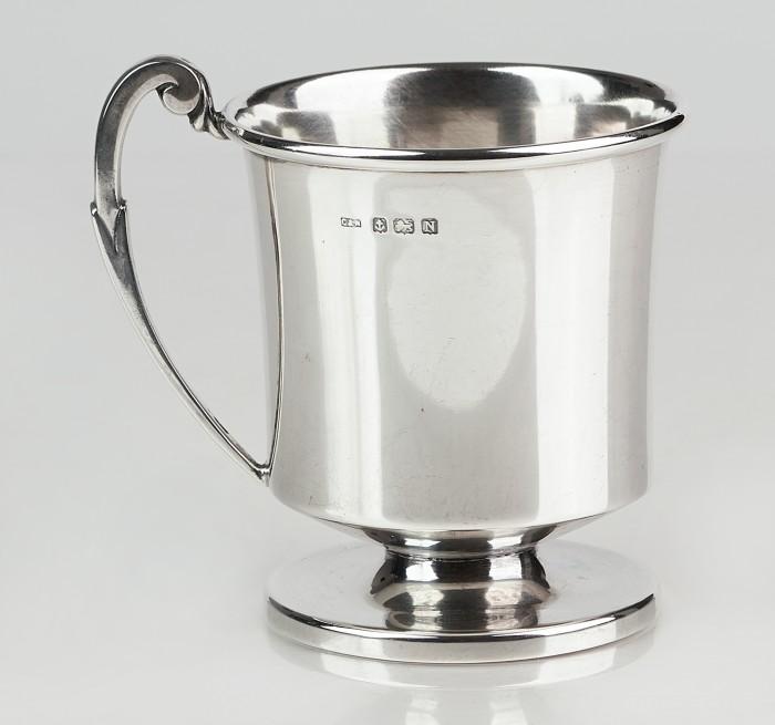 Halba din argint 925-Anglia an 1937,purificare apa 250ml