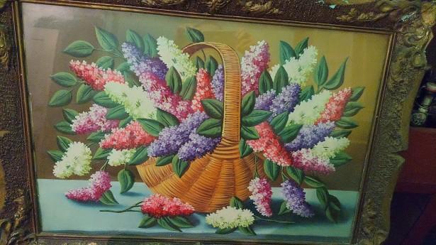 Picturi pe panza vechi