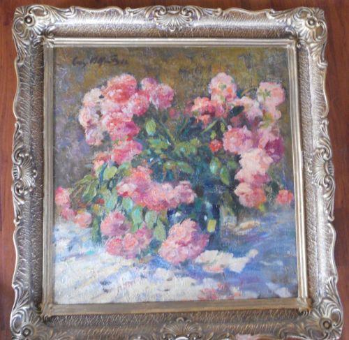 Vand tablou CONRAD VELEANU (VOLLRATH) (1884-1977) ulei pe carton, dimensiune 50x53cm