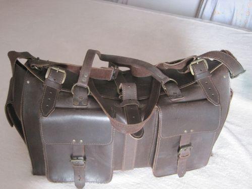 Vintage geanta piele 1