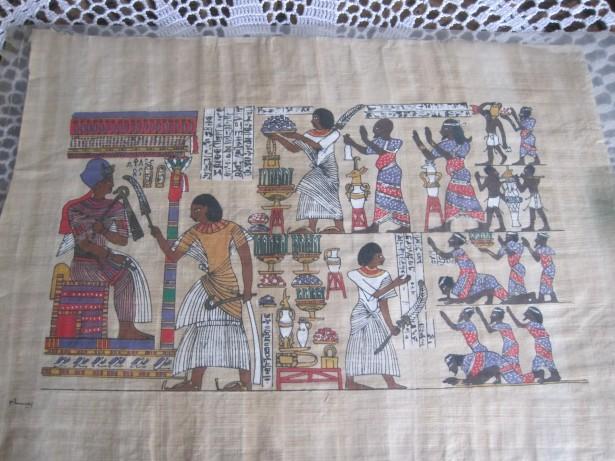 EGIPT PAPIRUS ORIGINAL NR .3
