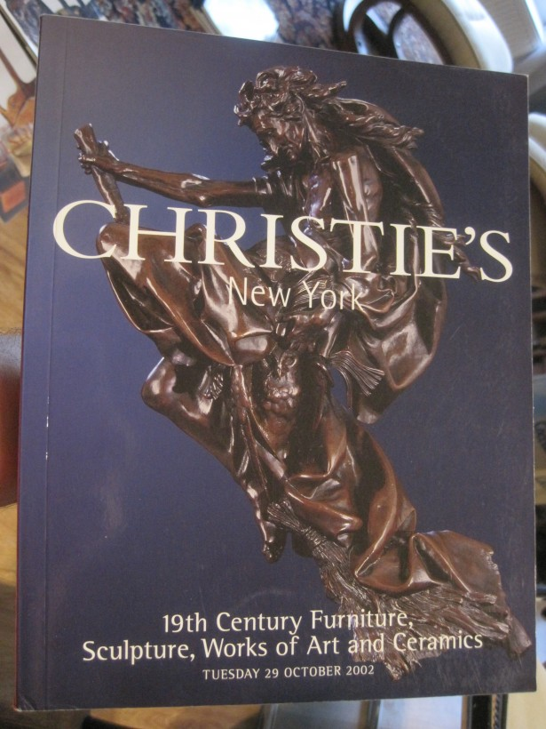 CHRISTIE`S CATALOG NEW YORK 29 OCTOMBER 2002