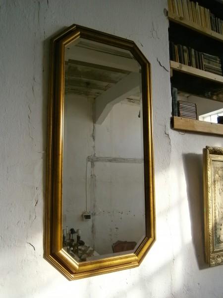 Oglinda cu rama din lemn (Decoratiuni)