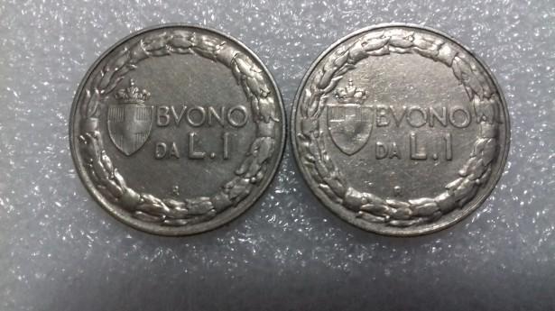Monede  Italia  1923-1954