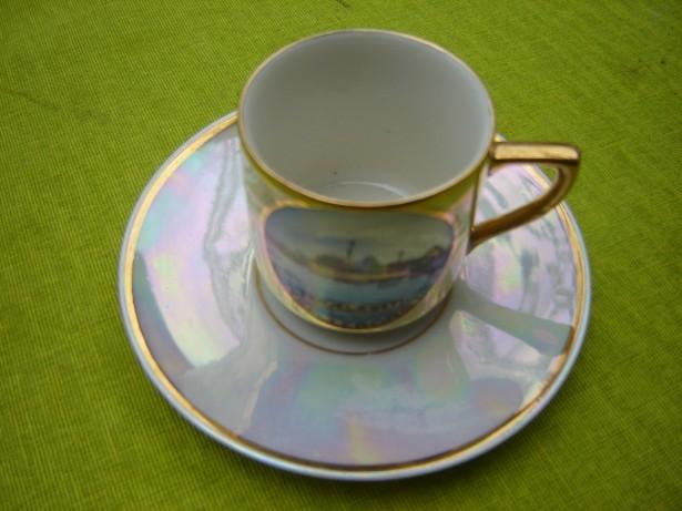Portelan suedez, frumoasa ceasca de cafea